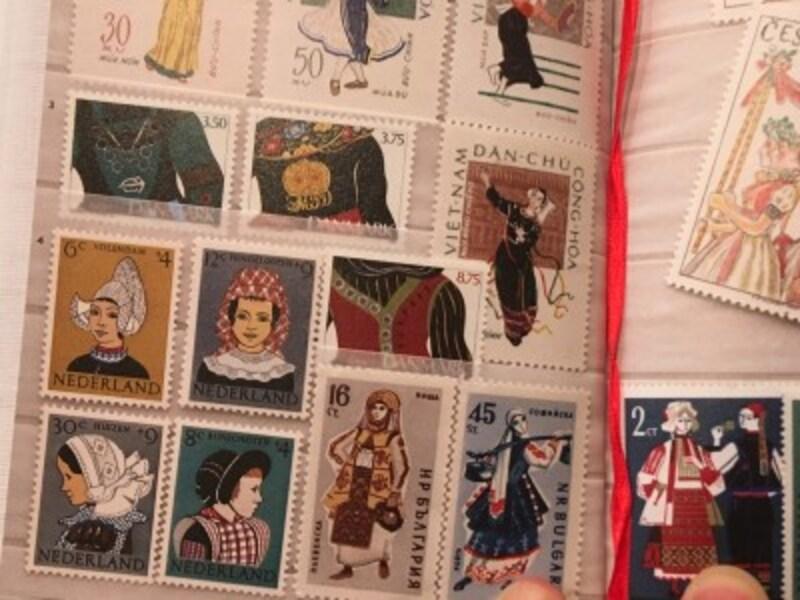 切手の一例