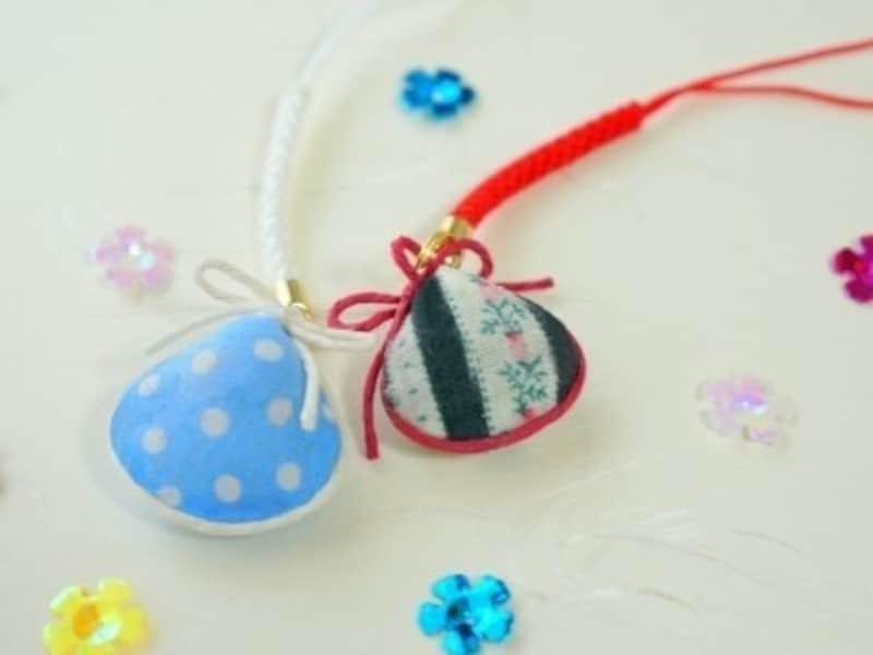 敬老の日製作,敬老の日工作,敬老の日の手作りプレゼントに貝の根付を好みのデザイン