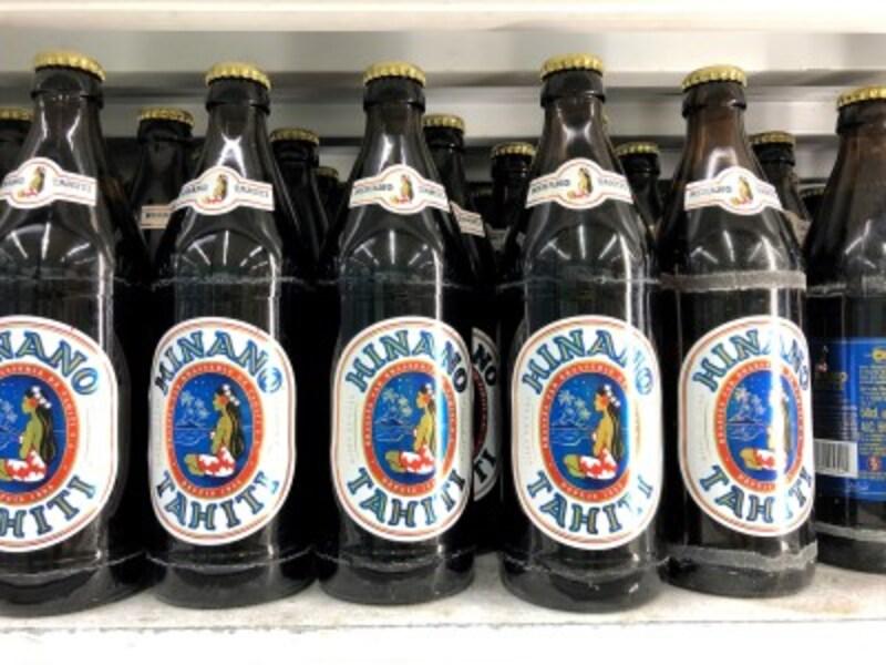 「ヒナノ」のビールは缶と瓶があります。現地のスーパーなどで入手可