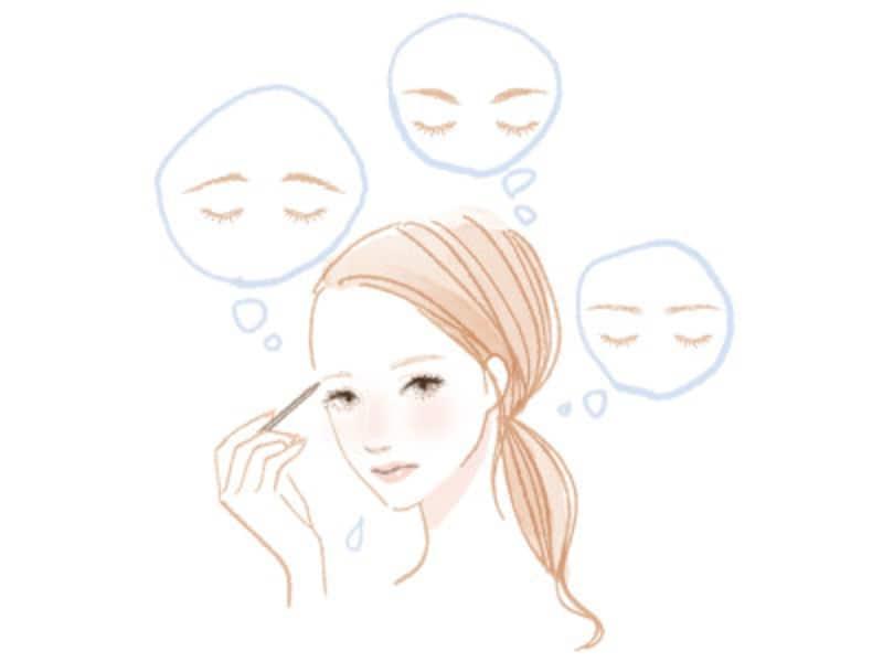 眉毛の描き方の正解は人それぞれ!自分にしっくりくる眉の描き方は?
