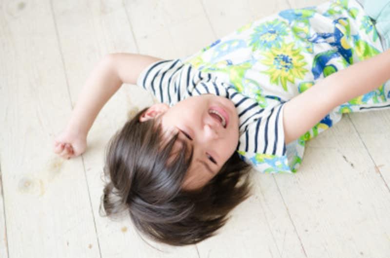 子供はどんな癇癪行動をする?