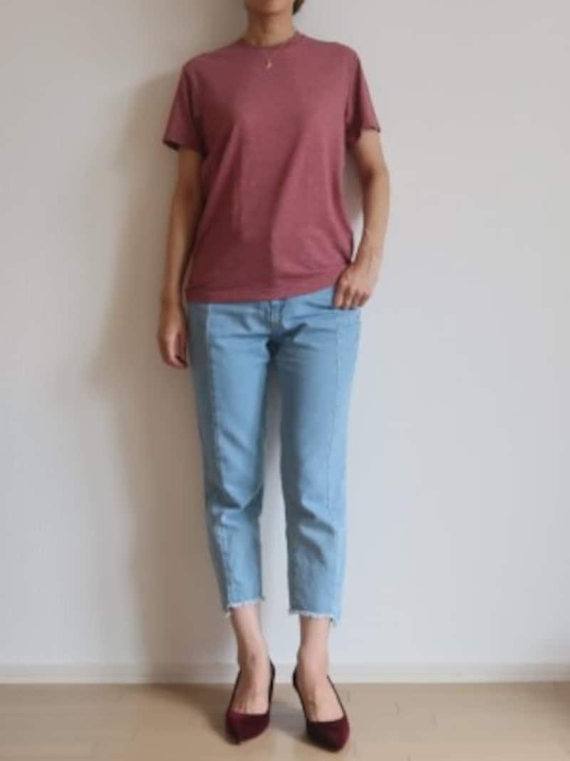 簡単!秋トレンドを意識したアラフォーコーデの作り方無印良品でこの秋アラフォー女性が着たい新作3選590円!ユニクロメンズドライカラーTシャツが優秀