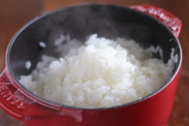 STAUB,炊飯鍋,鍋,ごはん,炊飯,炊き立てごはん