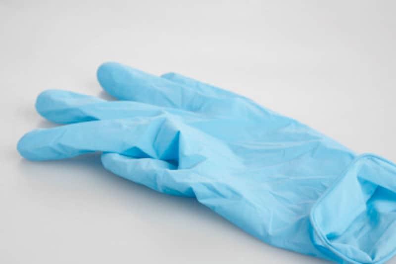 手荒れ手湿疹の原因はゴムアレルギー?