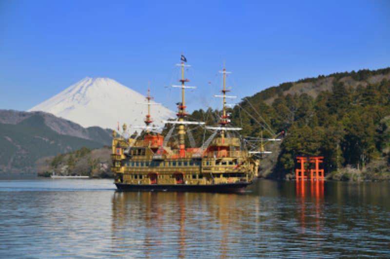 箱根ひとり旅の観光スポット:クイーン芦ノ湖