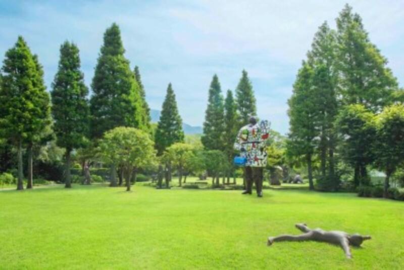 箱根ひとり旅の観光スポット:屋外展示場