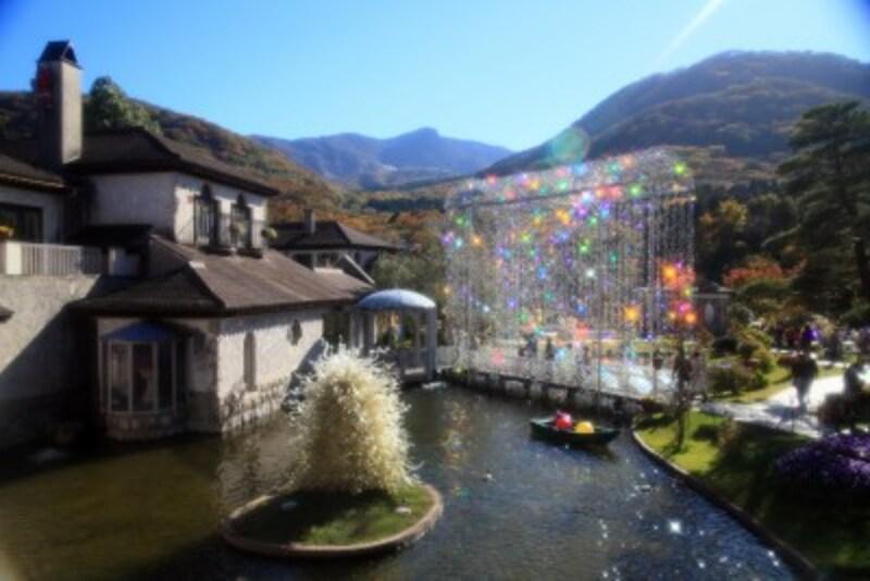 箱根ひとり旅の観光スポット:庭園
