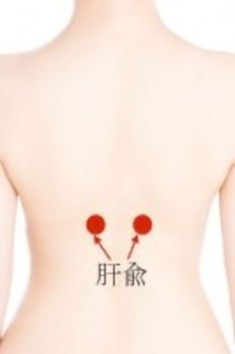 イライラ解消に効果的なツボ・肝兪