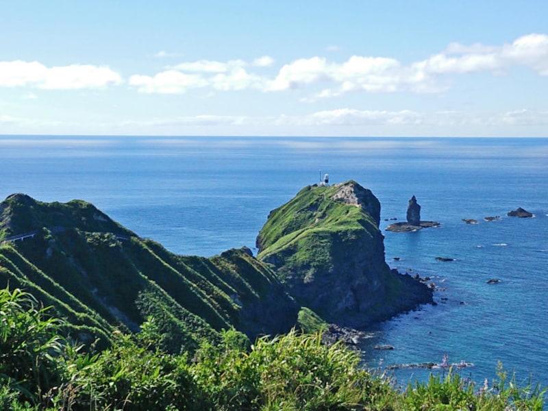 北海道の絶景パワースポット夏・神威岬