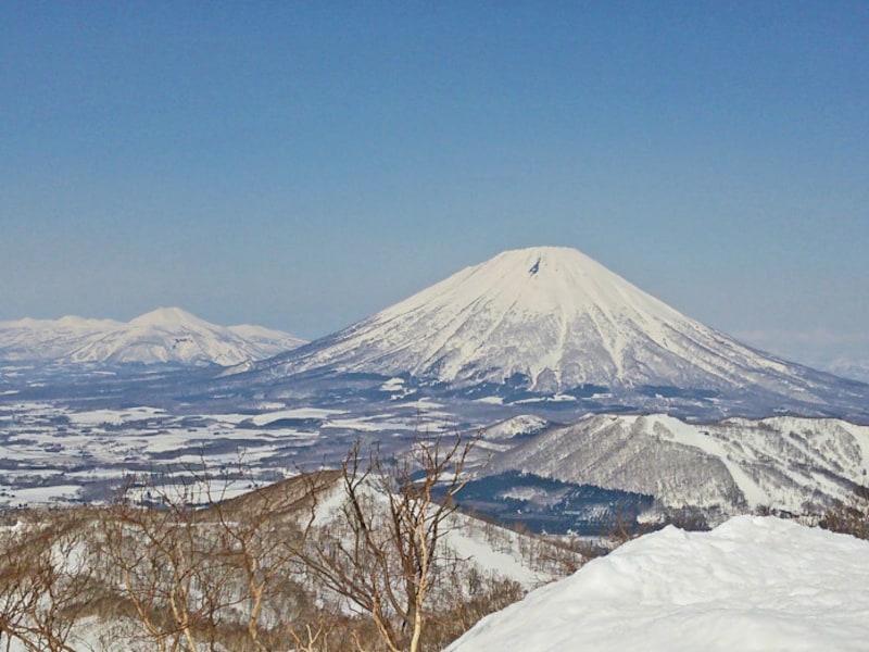 北海道の絶景パワースポット冬・マウントイゾラ