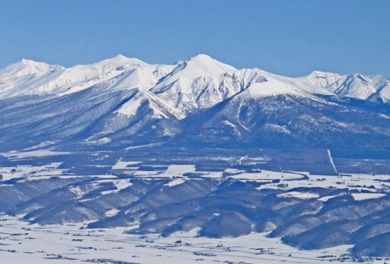 北海道の絶景パワースポット冬・富良野岳
