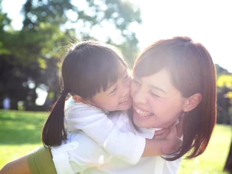 子どもの「おふざけ」を笑えるか、怒ってしまうかが、ママの余裕のバロメーター。