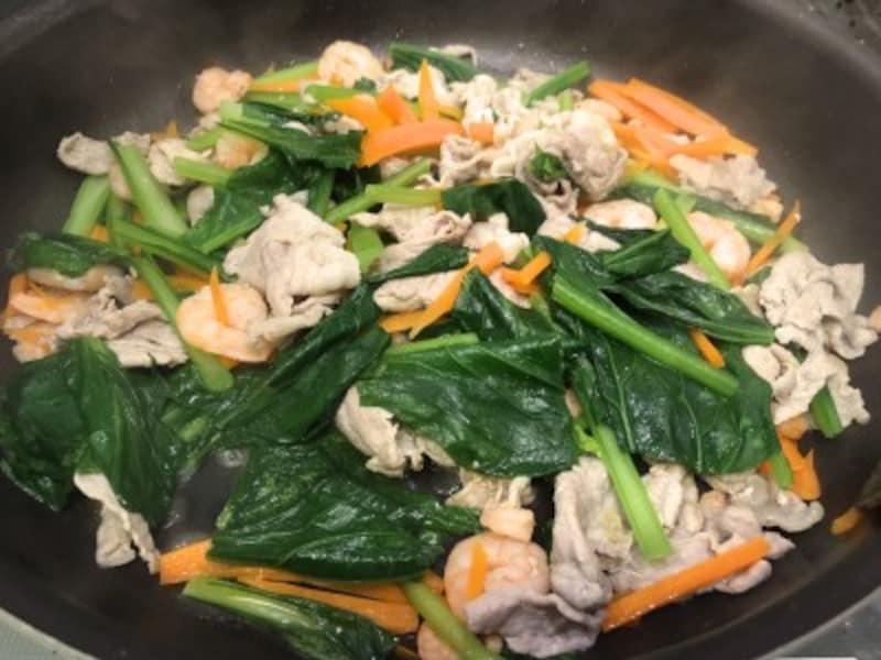 緑黄食野菜がとれれば、親子で元気になれる気がします。