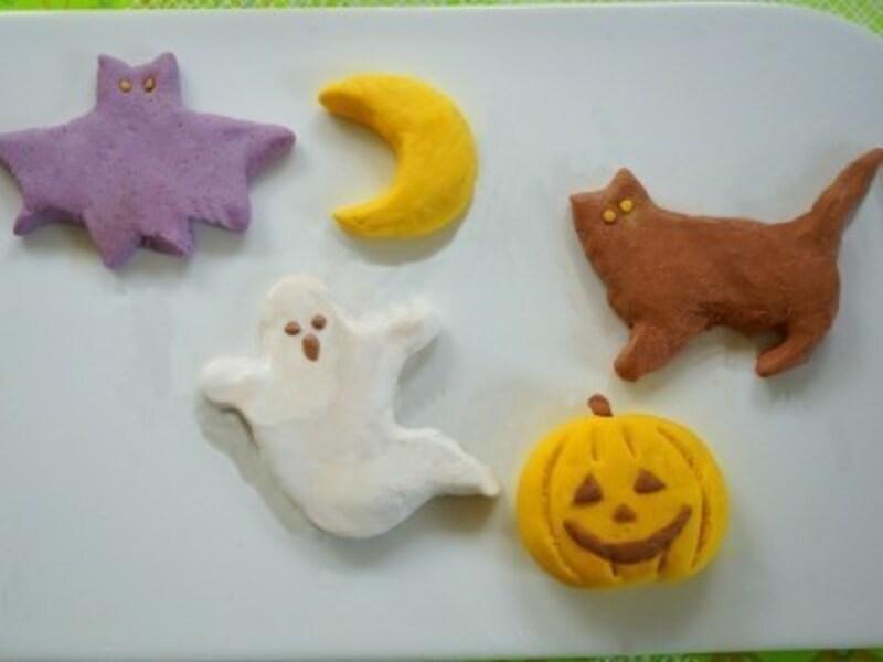 ハロウィンお菓子の手作りアイディア10.ハロウィンのデコ白玉