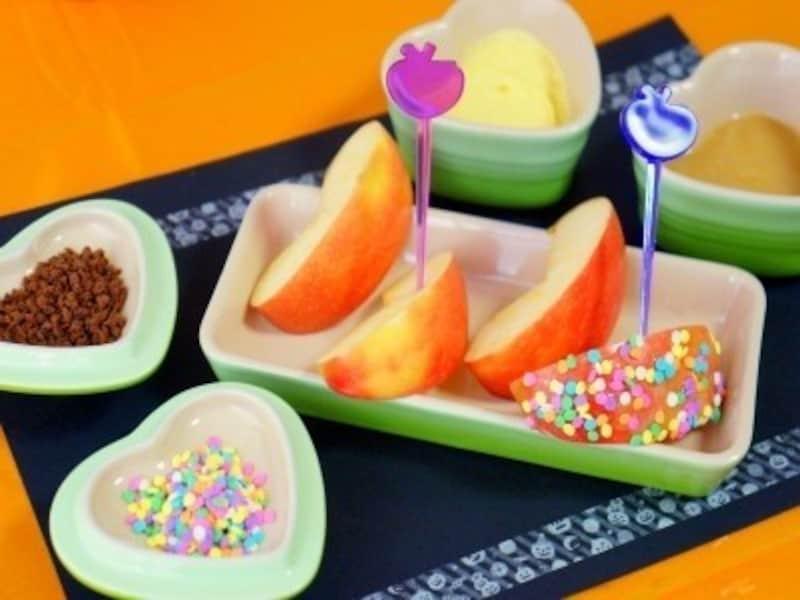 ハロウィンお菓子の手作りアイディア14.アメリカの伝統菓子・ハロウィンのキャラメルアップル