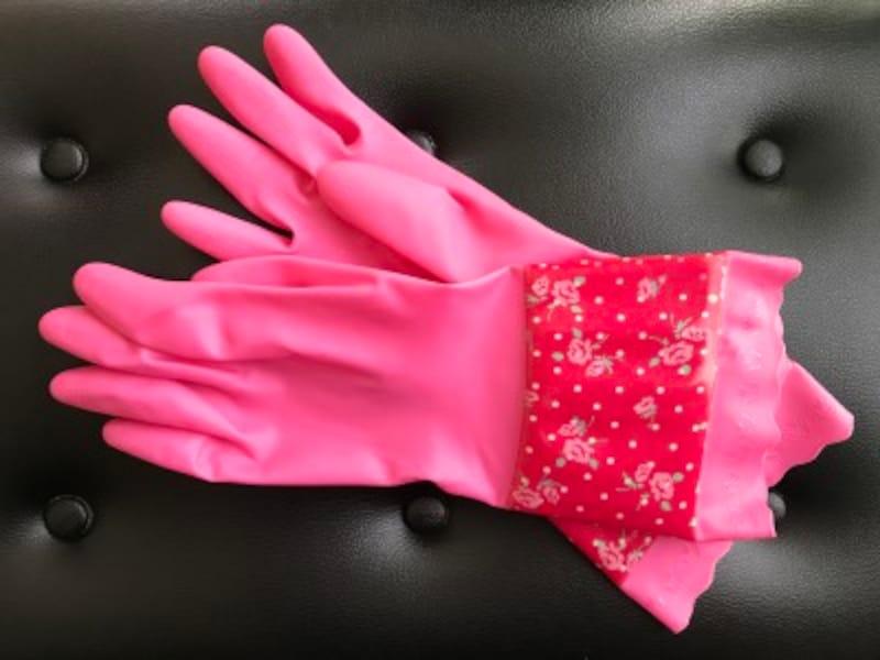 ゴム手袋「カシニーナ」の写真