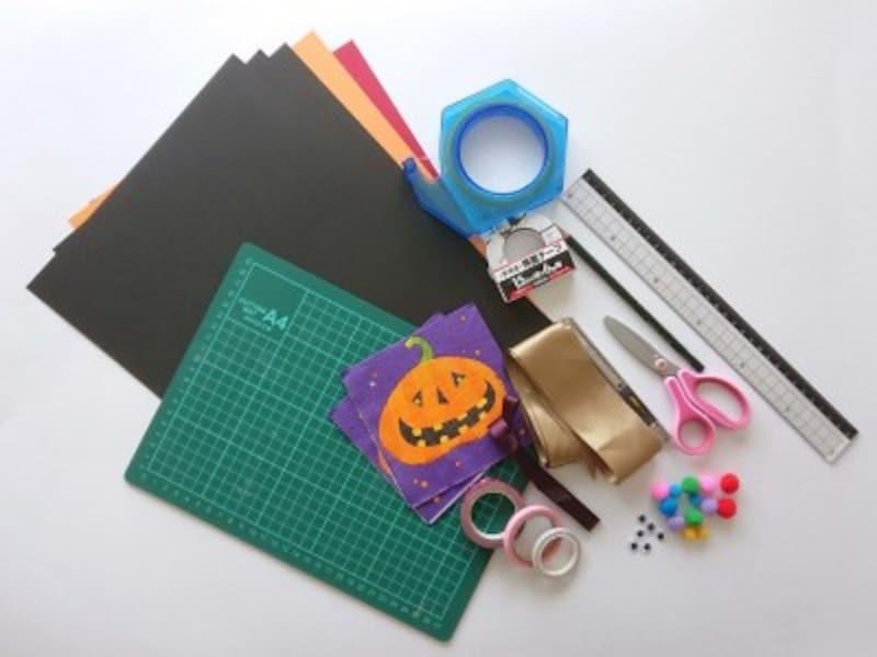 ハロウィン帽子魔女帽子かぼちゃ帽子の作り方・手作り…材料