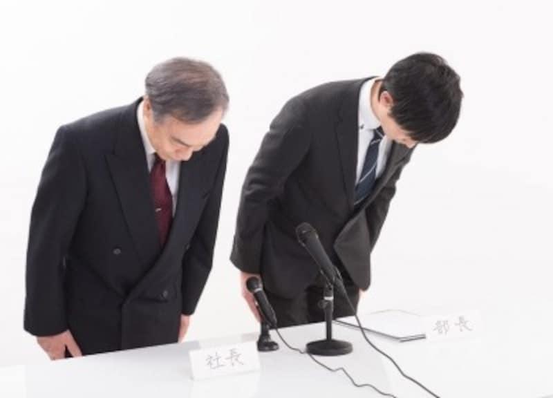 謝罪・お詫びの仕方ビジネスシーンでの謝罪の構成