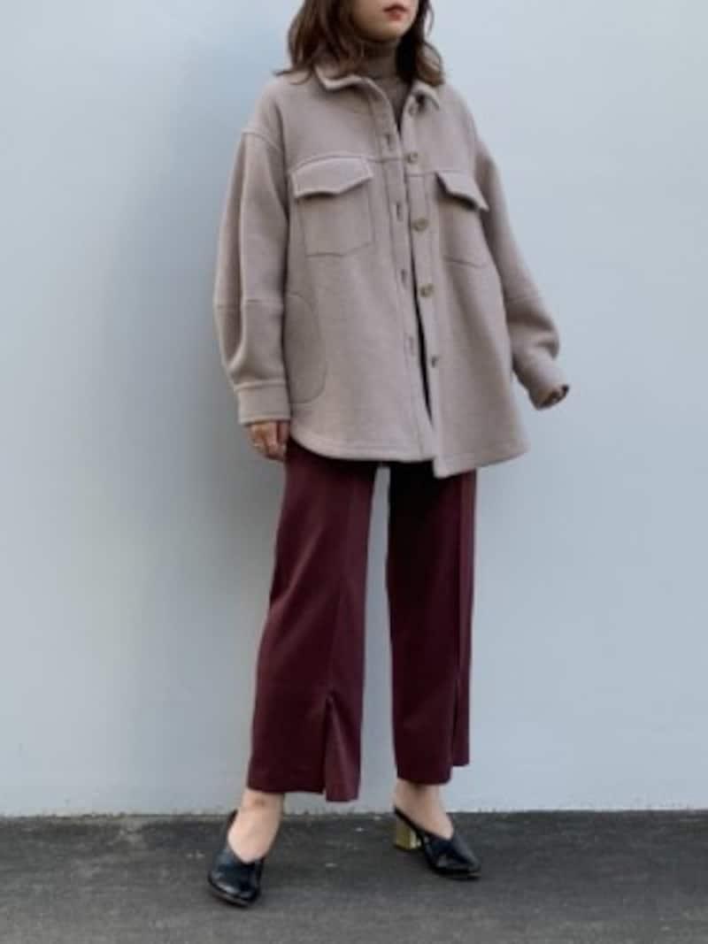 シャツジャケット(CPOジャケット)は羽織るだけで旬の着こなしに 出典:WEAR