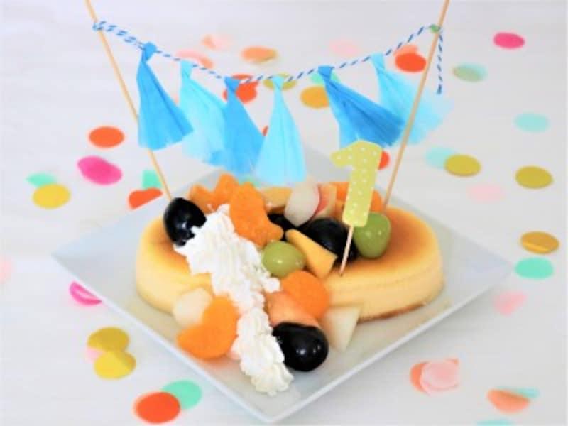 市販のケーキを利用したお手軽スマッシュケーキ
