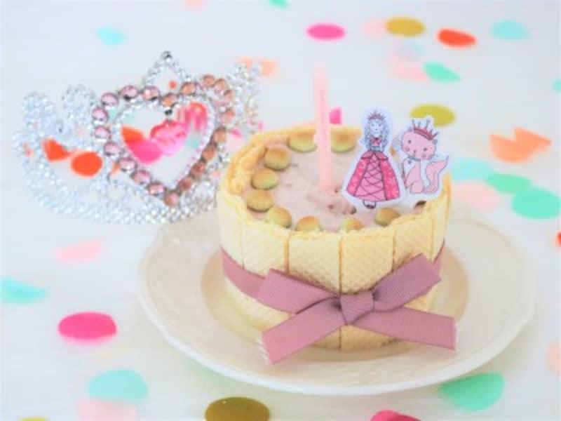 離乳食用のお菓子だけで作ったスマッシュケーキ
