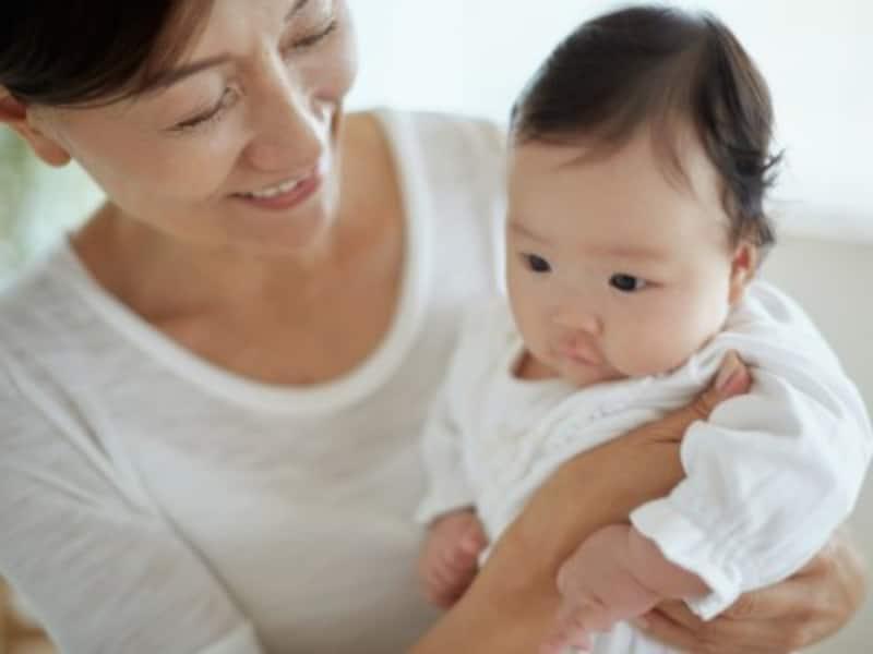 実家が近くて実母が元気な状態は、多くのママにとって育児しやすい環境。