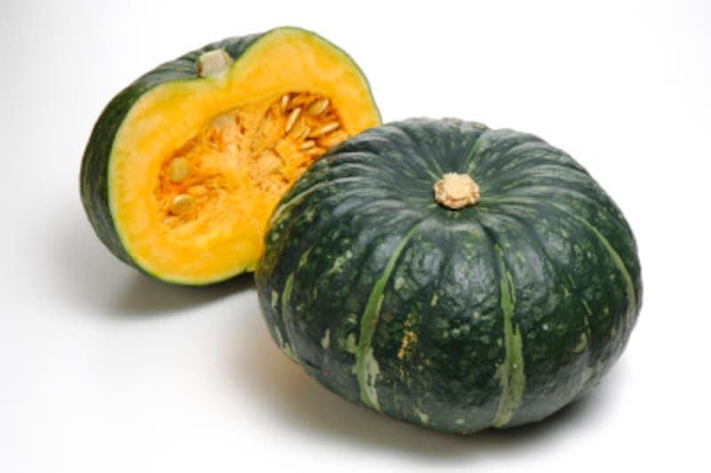 かぼちゃはしっかり洗うこと