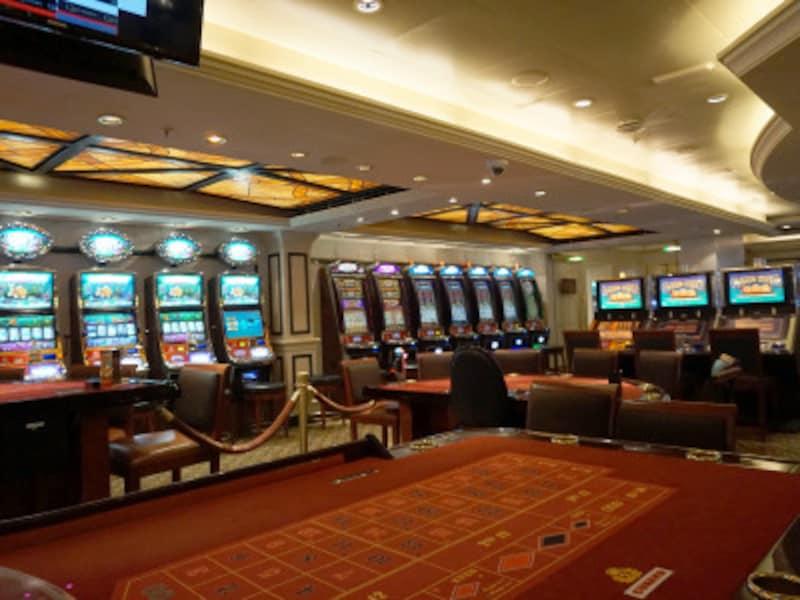 クイーン・エリザベスのカジノ