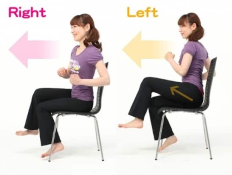 下っ腹ダイエット座りながら下腹エクササイズ