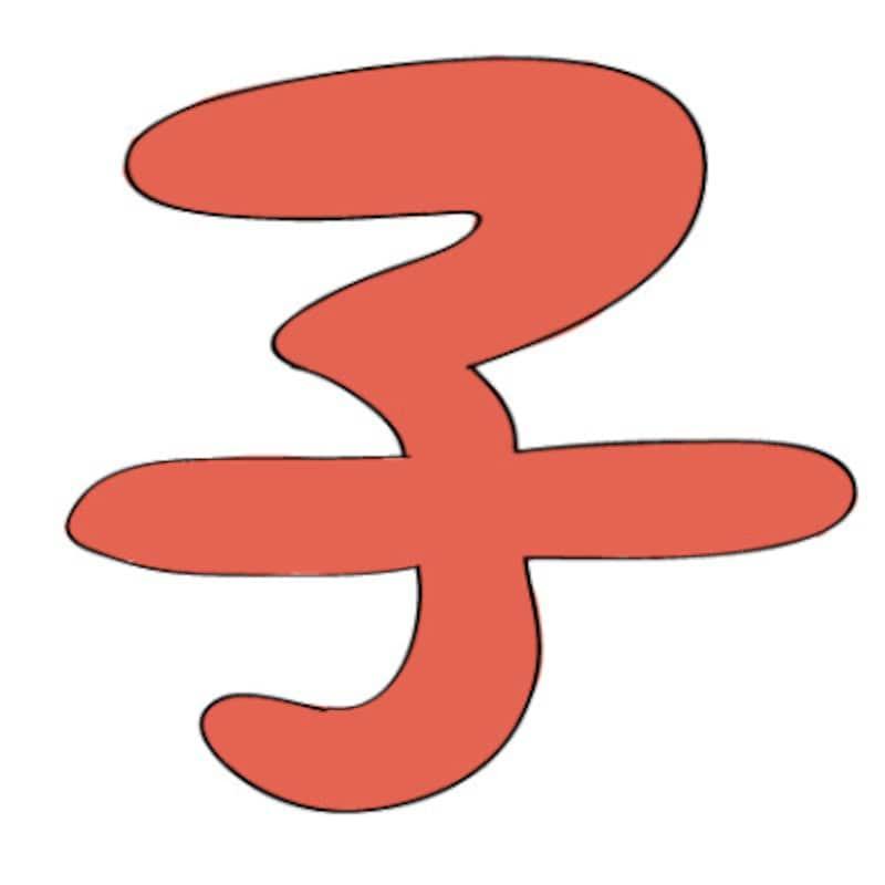 干支「子」のロゴは年賀状作成にぴったり