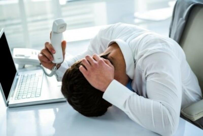クレーマー対応はストレスがいっぱい(写真はイメージ)