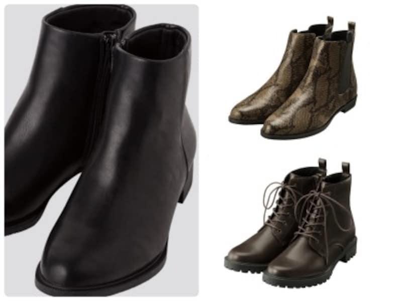 ユニクロ、GUで3990円以下の大人も履ける優秀ブーツはこの3点!