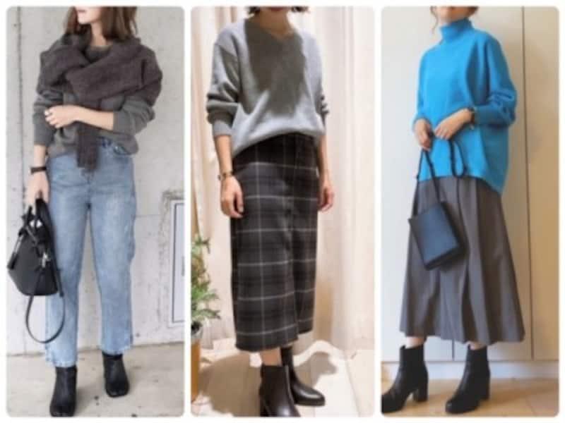 フェミニンにもカジュアルにも着られる万能カラーのグレー、今年はどう着る?