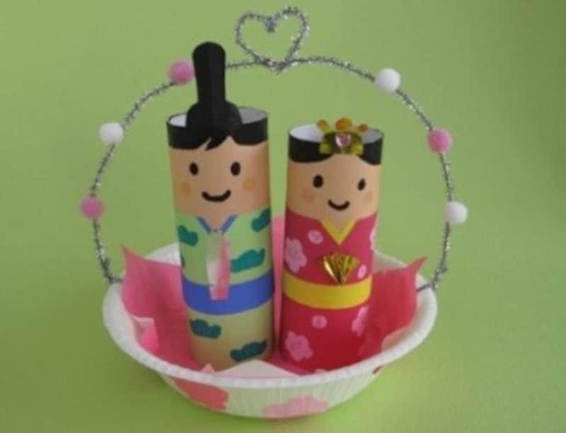 ひな祭り製作・雛祭り工作・手作り雛人形