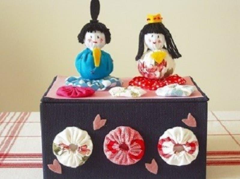 ひな祭り製作・雛祭り工作・手作り雛人形・子供とハンドメイド・親子で雛人形を工作