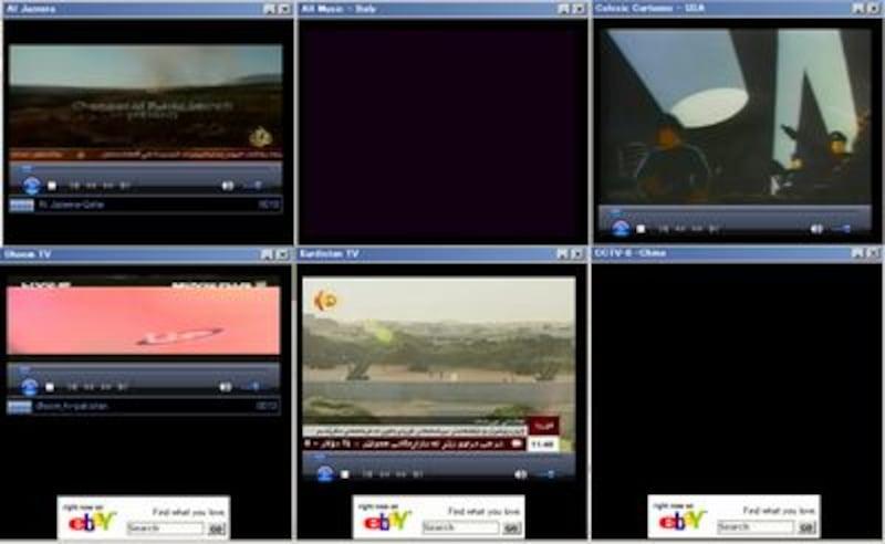 「TV-FOX」画面イメージ