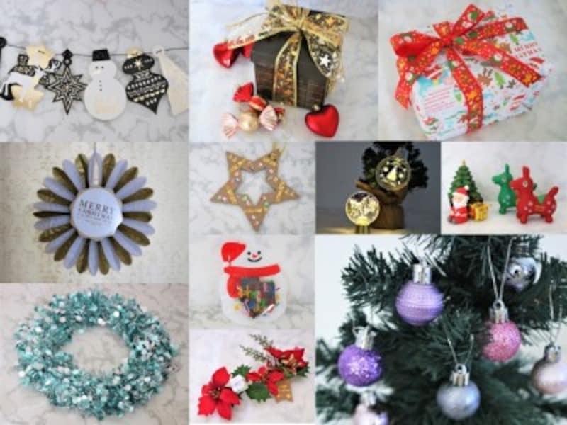 クリスマスホームパーティー100均アイテム!ダイソーVSセリアVSキャンドゥ2019