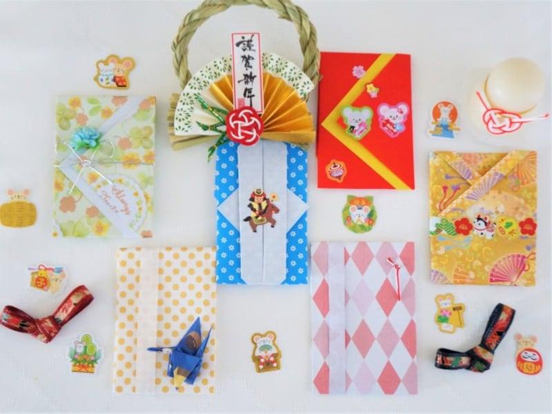 折り紙ポチ袋・ぽち袋簡単おしゃれ