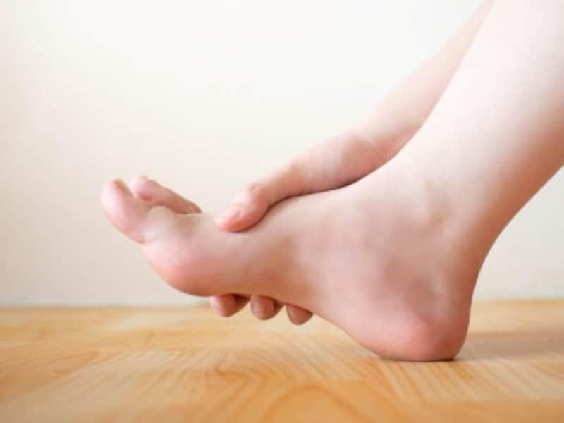 ウオノメによる足の痛みイメージ