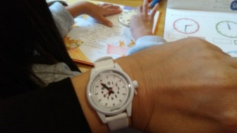 時計学習の導入に、とても重宝する