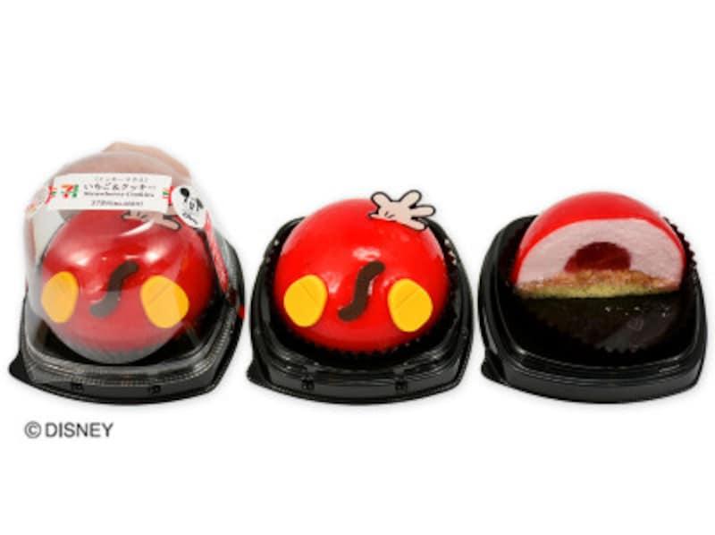 「いちご&クッキー/ミッキーマウス」(378円+税)