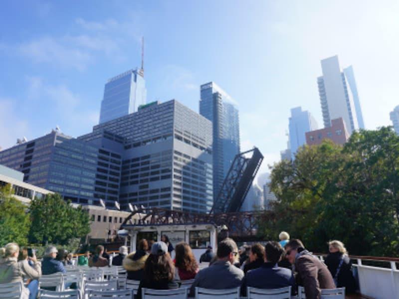 シカゴの建築リバークルーズ