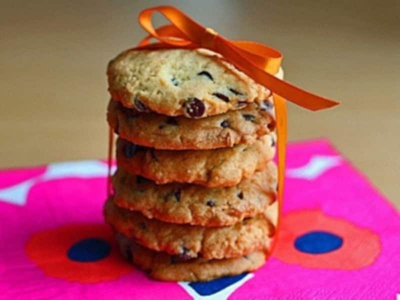 友チョコ大量生産バレンタインレシピ ザクザクチョコチップクッキー