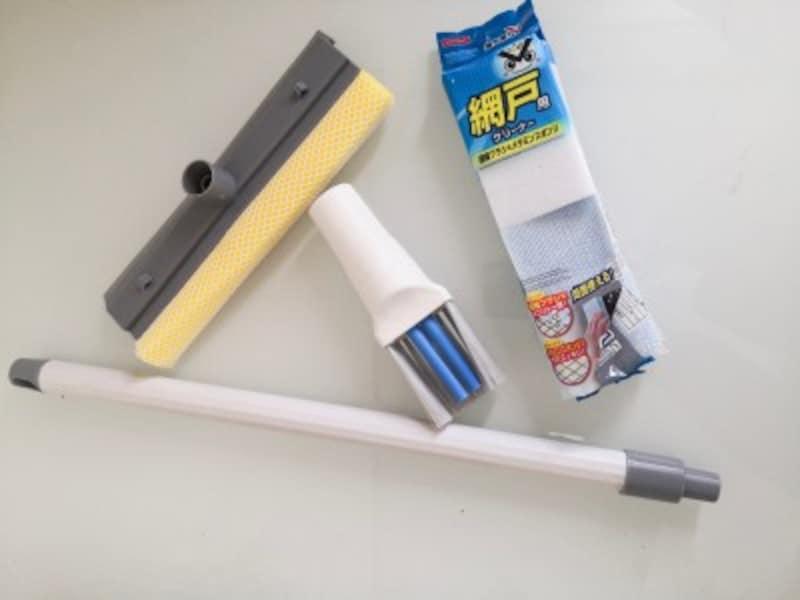 窓の大掃除に便利な100均グッズ