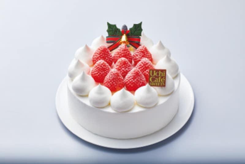 「苺のショートケーキ」(5号/税込3,950円)。直径15cmで、4~6人向き