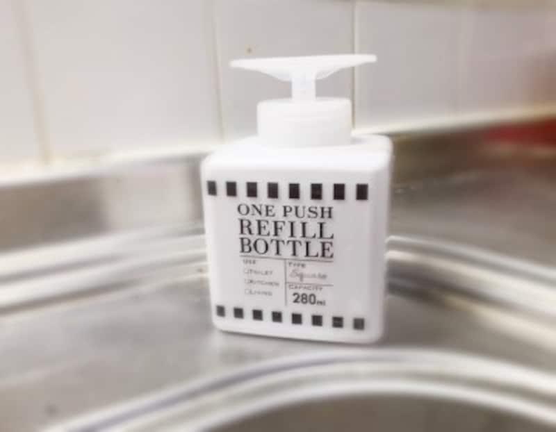 100均セリアおすすめワンプッシュお掃除ボトル