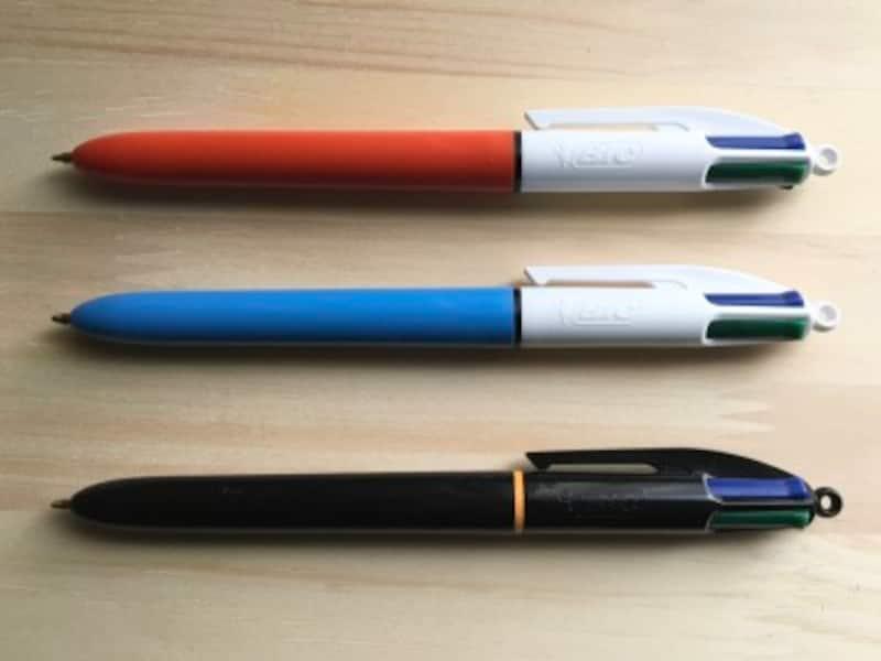 ビックボールペン4色