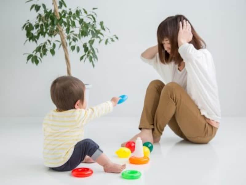 育児中のイライラ