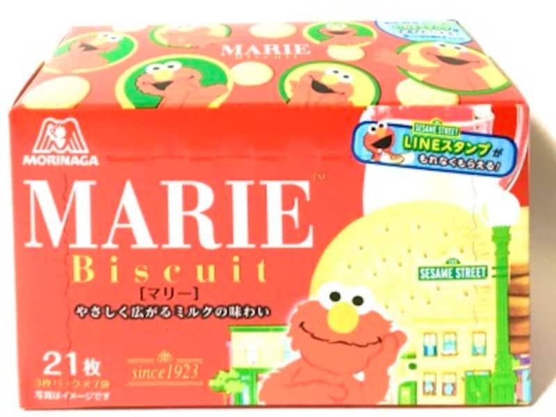 森永ビスケット・マリー。セサミストリート箱