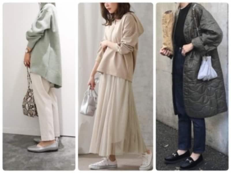おしゃれ小物があれば冬から春のファッションのつなぎ役としても大活躍!